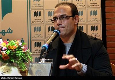 """سخنرانی علیرضا قربانی خواننده آلبوم """"ری تا روم"""" در مراسم رونمایی"""