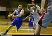 تیم بسکتبال هفت الماس قزوین روی نوار ناکامی