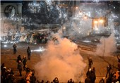 Police Clash with Protesters in Ukraine, One Feared Dead