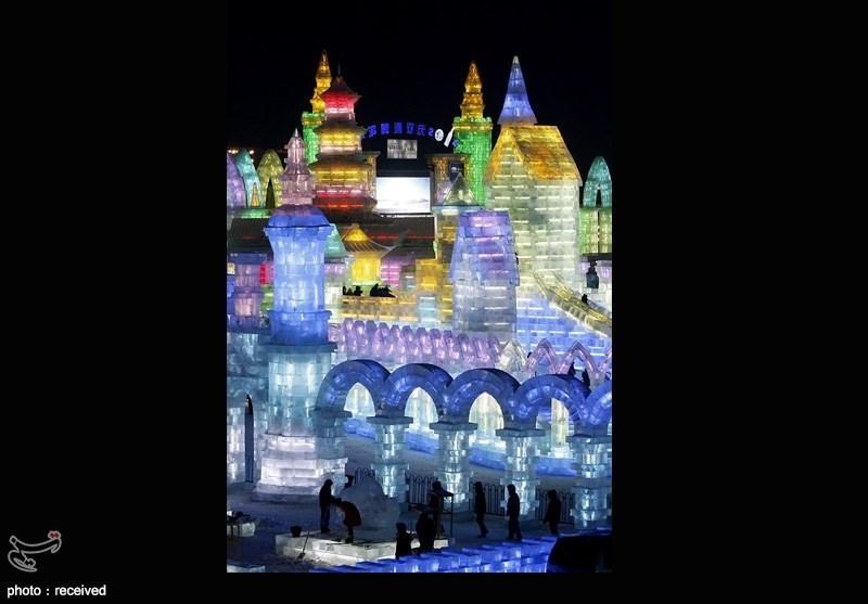 گزارش تصويري جشنواره مجسمه های یخی در چین