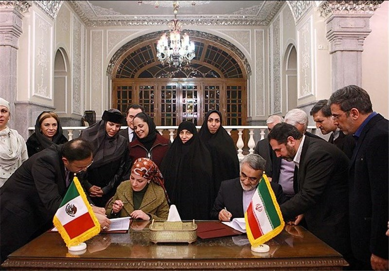 Iranian, Mexican Parliamentary Commissions Sign MoU