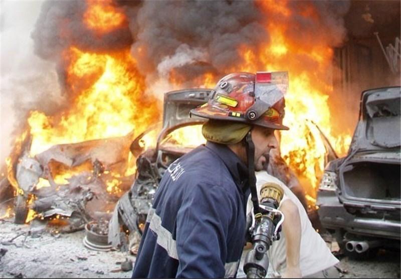 لبنان – لحظه وقوع انفجار در جنوب بیروت