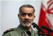مشاور فرمانده کل ارتش: ارتش هیچگاه دستش را از دست سپاه جدا نمیکند