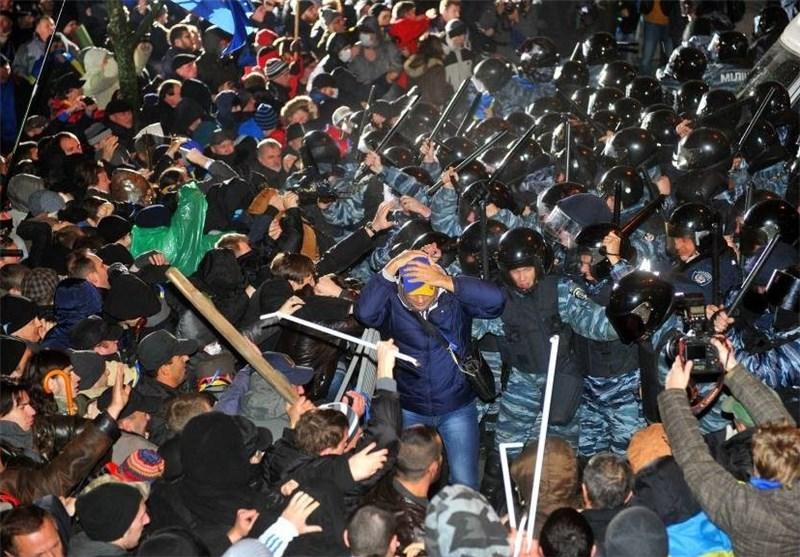 تصاویری از درگیری های کشور اکراین