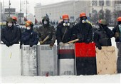 Ukraine Protesters, Police Pull Back in Contest over President