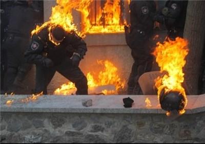 تصاویری جدید از درگیری های اوکراین