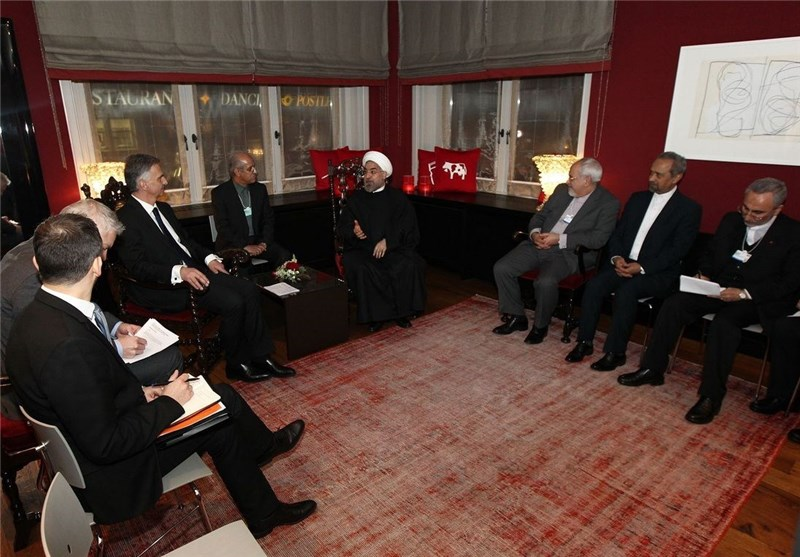 Iranian, Swiss Presidents Meet in Davos, Discuss Syria Crisis