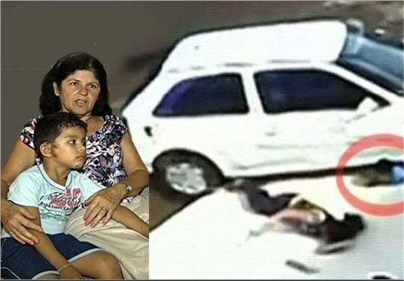 کلیپ نجات کودک برزیلی از مرگ حتمی