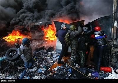اعتراضات ضددولتی در اوکراین