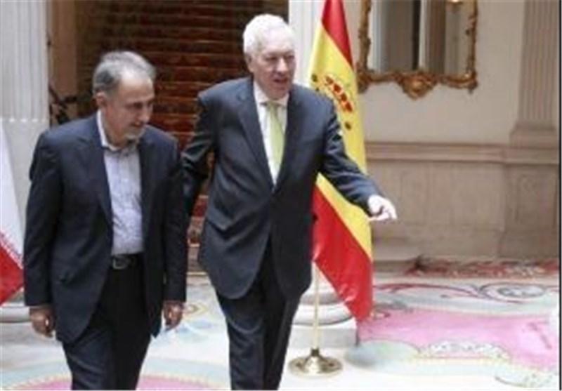 وزیر خارجه اسپانیا- نجفی
