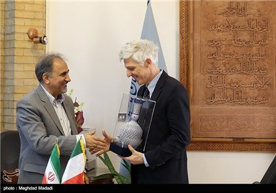 Photos: Iranian, Italian Officials Stress Expansion of Cultural Relations