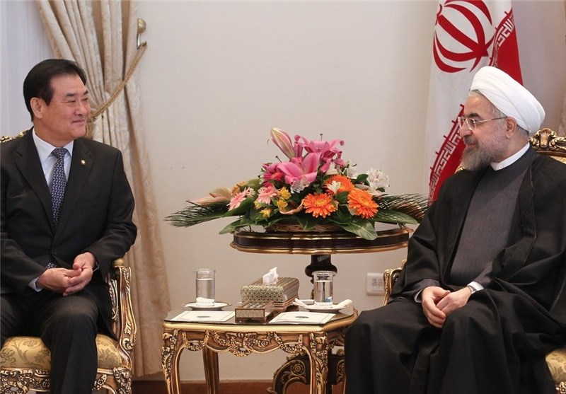 President Rouhani Invites S. Korean Firms to Invest in Iran
