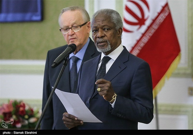 Annan Commended for Cooperation with Iran during UN Tenure
