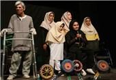 """چهارمین جشنواره """"تئاتر منطقهای معلولین کویر"""" در بیرجند افتتاح شد"""