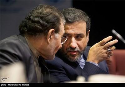 گفتگوی عراقچی معاون وزیر امور خارجه با آل اسحاق رییس اتاق بازرگانی تهران