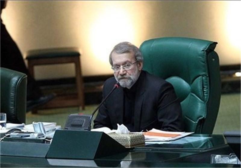 لاریجانی : اللقاء سراً مع عناصر أحداث الفتنة عام 2009 لای لیق بشأن الاوروبیین