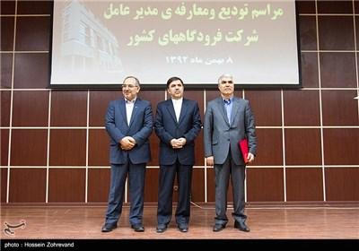 تودیع و معارفه مدیران عامل شرکت فرودگاههای کشور با حضور وزیر راه و شهر سازی