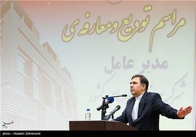 سخنرانی عباس آخوندی، وزیر راه و شهر سازی در مراسم تودیع و معارفه مدیران عامل شرکت فرودگاههای کشور