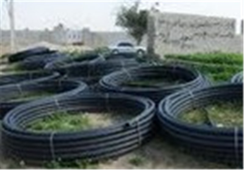 پلمپ نخستین واحد تولیدی لوله پلیاتیلن غیراستاندارد در بوشهر