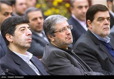 مرکز تصویر فرهاد پرورش ، مدیرعامل ایران ایر در مراسم تودیع و معارفه مدیران عامل شرکت فرودگاههای کشور