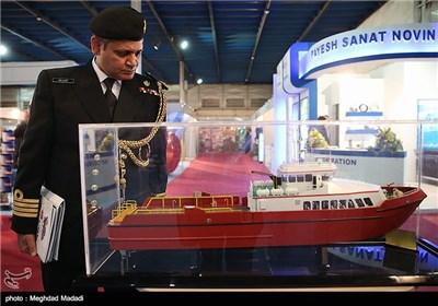 گشایش نمایشگاه بینالمللی دریایی