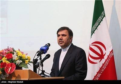 عباس آخوندی وزیر راه و شهرسازی در مراسم گشایش نمایشگاه بینالمللی دریایی