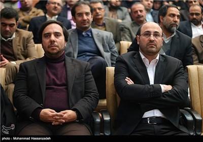 مراسم تودیع و معارفه مدیرکل روابط عمومی شهرداری تهران