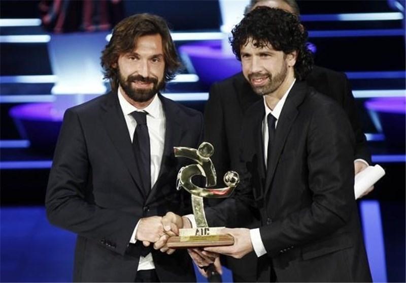 پیرلو بهترین بازیکن فصل 13-2012 سری A شد