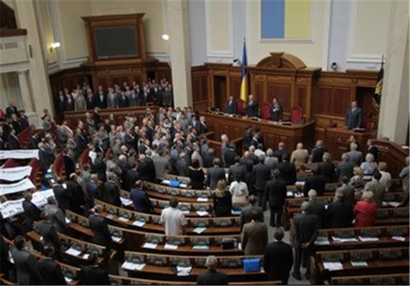 Ukraine Parliament Votes to Dismiss President