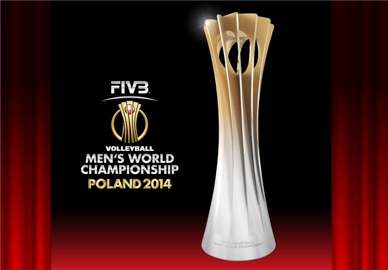 جزئیات جام والیبال قهرمانی جهان+ تصاویر