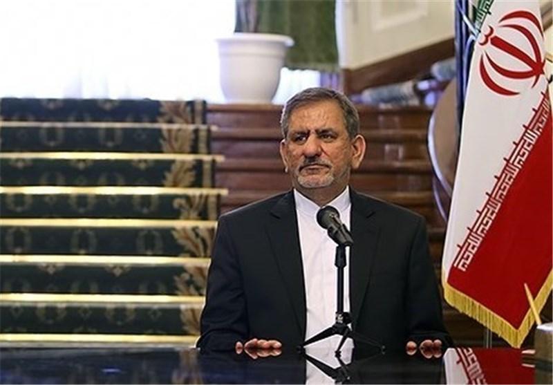 تاکید جهانگیری بر افزایش مبادلات تجاری ایران و ترکیه تا 30 میلیارد دلار