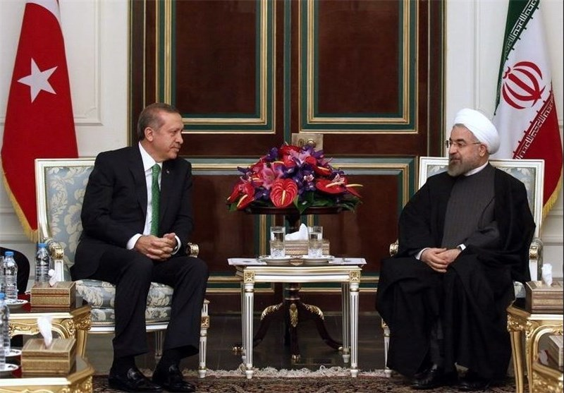 Tehran, Ankara Share Views on Major Regional Issues: Rouhani