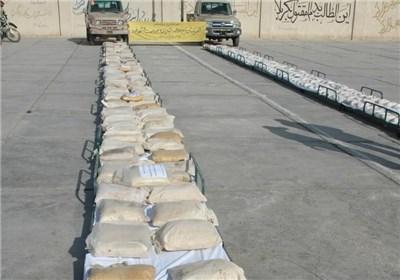 یک تن و 512 کیلوگرم مواد مخدر در خراسان شمالی کشف شد