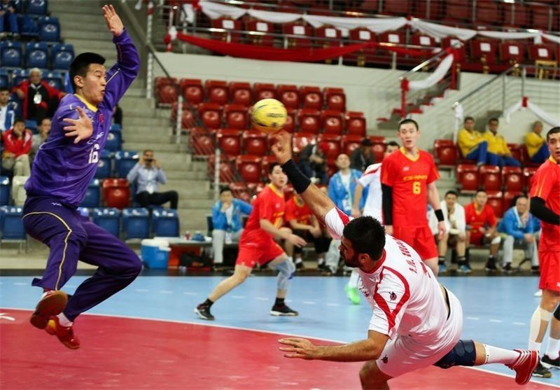 Iran Finishes 3rd in Asian Handball Championship
