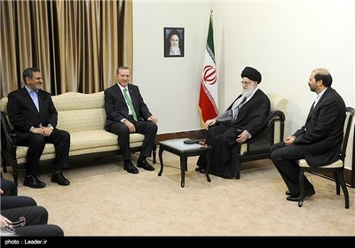 Turkish PM Meets Supreme Leader