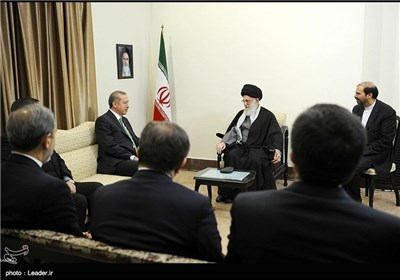 Photos: Turkish PM Meets Supreme Leader