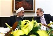 تقدیر روحانی از علی لاریجانی در همراهیها با دولت