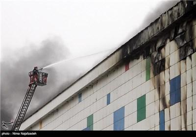 آتش سوزی در سرزمین موجهای خروشان - مشهد