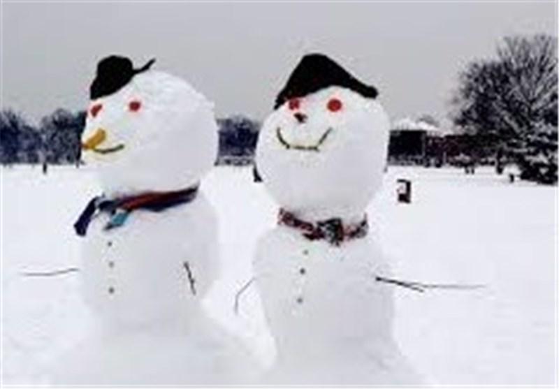 طبیعت برفگیر «ازنا و الیگودرز» میزبان جشنواره آدمبرفی لرستان