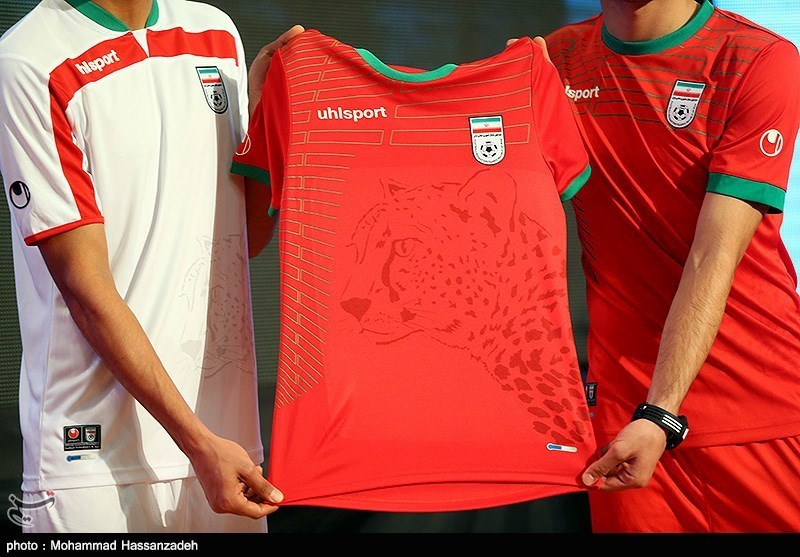 e652f52cb42 Iran soccer team unveils new jersey - IN PHOTOS