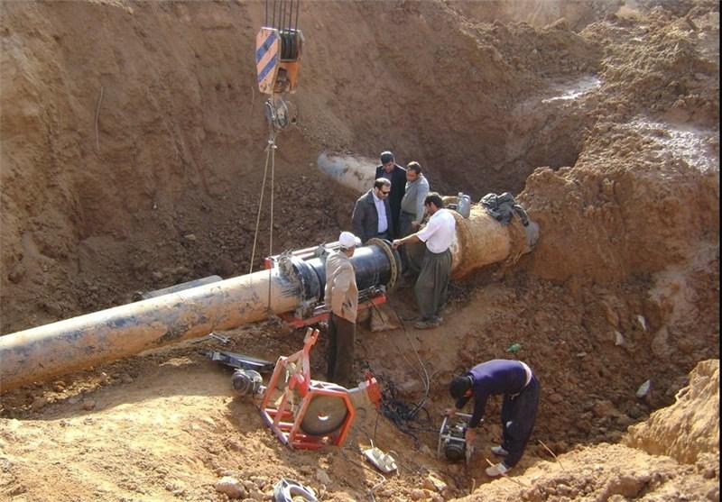 خوزستان| علت افت فشار آب در آبادان ناشی از نشتی خط دوم طرح آبرسانی غدیر است