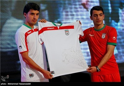 Iran Unveils Football Team's Jersey