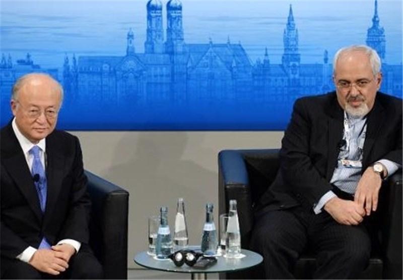 Iran's Top N. Negotiator Meets IAEA Chief in Austria
