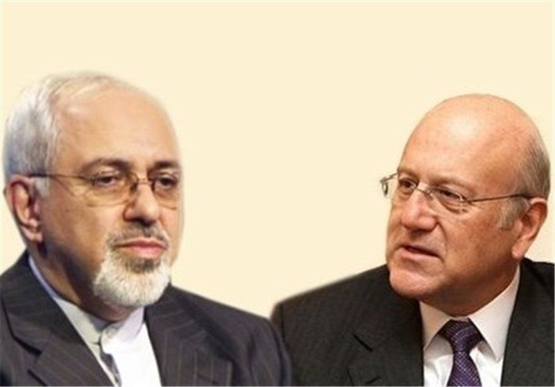Zarif Renews Iran's Determination to Expand Ties with Lebanon