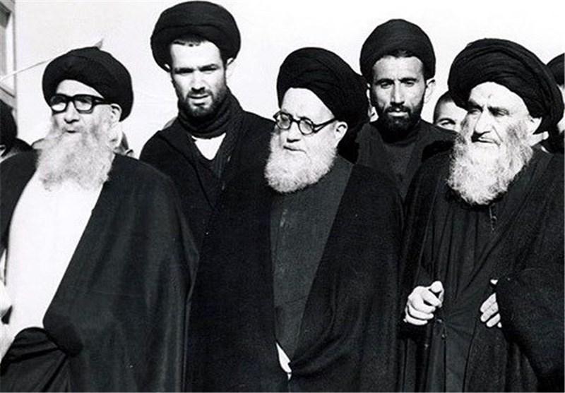 Afbeeldingsresultaat voor عکس آیت الله شریعتمداری مرعشی نجفی گلپایگانی