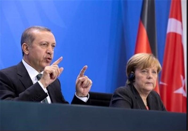 مرکل اردوغان