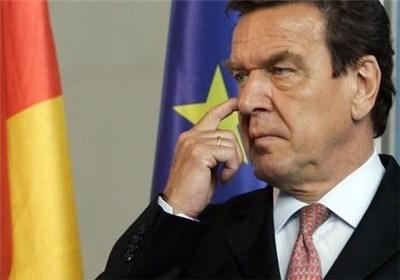 """""""شرودر"""" خواستار تحریمهای متقابل اتحادیه اروپا علیه آمریکا شد"""