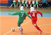 تیم شهرداری زنجان مقابل یاران جوان بندر عباس شکست را پذیرفت