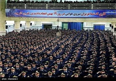 IRIAF Commanders, Personnel Meet Supreme Leader