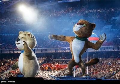 أنطلاق الالعاب الشتویة لعام 2014 بمدینة سوتشی الروسیة